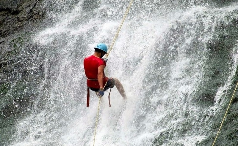 Rappelling in Coorg