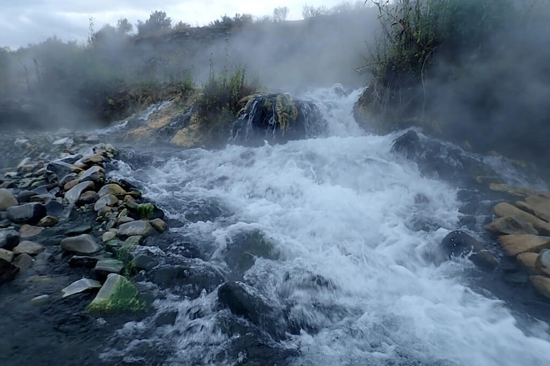 The Boiling River, United States